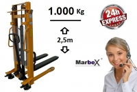Handstapler 1000 kg / 2500 mm